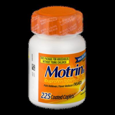 Motrin IB Ibuprofen Tablets - 225 CT