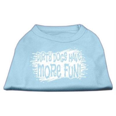 Ahi Dirty Dogs Screen Print Shirt Baby Blue XS (8)