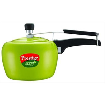 Prestige PRA5G Apple Aluminum Green Color Pressure Cooker - 5 Litres