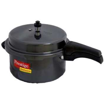 Prestige PRHA7.5 Deluxe Hard Anodized Black Color Pressure Cooker - 7.5 Litres