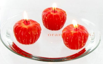 Candlelite Cooking w/Candle-lite Caramel Apple Floating Candles