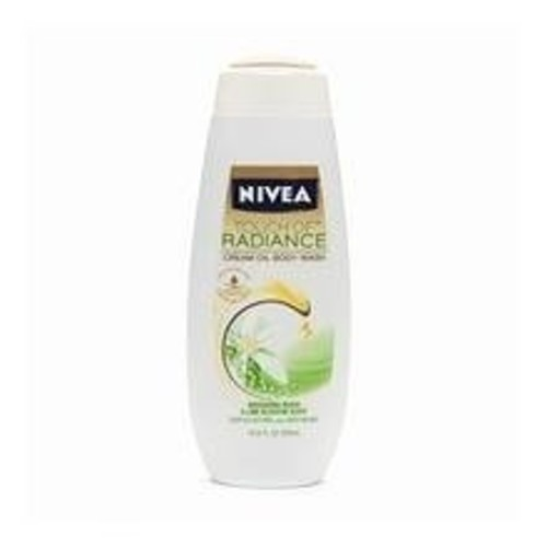 Nivea Body Wash Touch of Radiance Cream Oil Body Wash, 16.9 oz