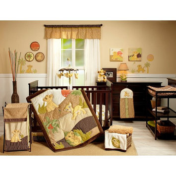 Crown Craft Disney Baby - Lion King 7 Piece Crib Set