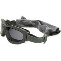 Bobster Eyewear Bobster Bravo BBRA101 Goggle Sunglasses,Black Frame/Smoke & Clear Lens,One Size