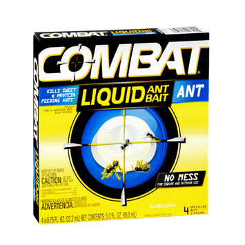 Combat Liquid Ant Bait Prefilled Bait Stations - 4 CT