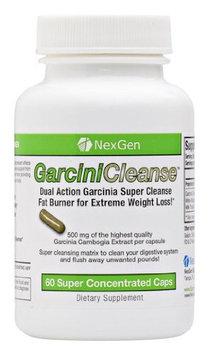 Nexgen Biolabs GarciniCleanse - Garcinia 500mg per capsule 60% HCA diet pills with powerful detox and cleanse