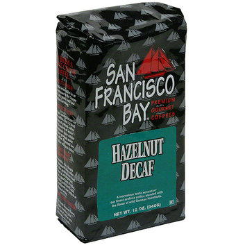 San Francisco Bay Coffee Decaf Hazelnut Whole Bean Coffee (Pack of 6)
