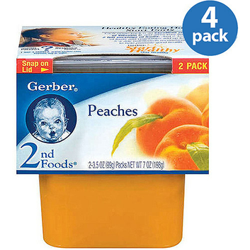 Gerber 2nd Foods Baby Foods Peaches