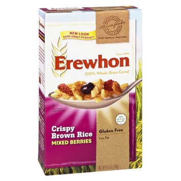 Attune Foods Erewhon Mixed Berry Crispy Brown Rice 100% Whole Grain Cereal