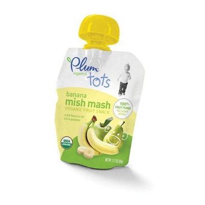 Plum Organics Mish Mash, Banana, 3.17-Ounce Pouches (Pack of 16)