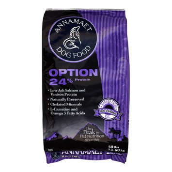 Natural Animal Nutrition Annamaet Option 24 Formula Dry Dog Food 30lb
