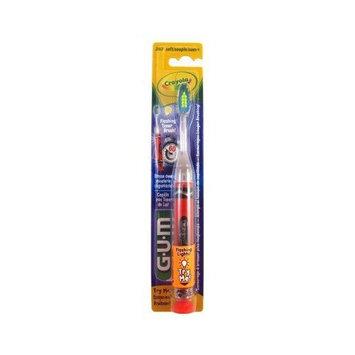 Butler Toothbrush Crayola Flashing Lights Soft (Pack of 6)