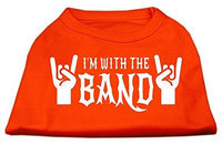Ahi With the Band Screen Print Shirt Orange XL (16)