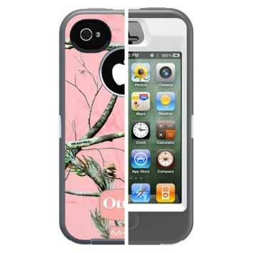 Otterbox Defender Cell Phone Case for iPhone4/4S - Pink camo (77-