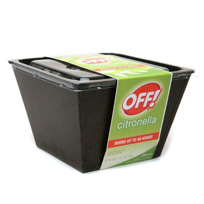 OFF! Citronella Bucket Candle