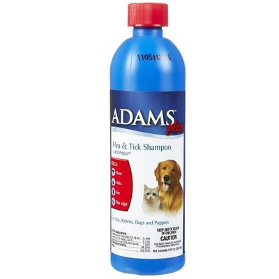Central Life Sciences Adams Flea & Tick Cleansing Shampoo with Pyrethrin, 12-ounce
