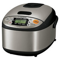 Zojirushi Micon Rice Cooker and Warmer - Black/Silver