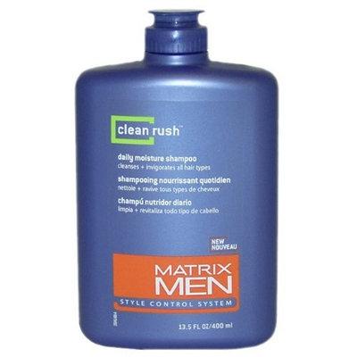 Matrix Men Clean Rush Daily Moisture Shampoo, 13.5 Ounce