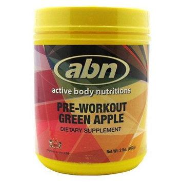 ABN Pre-Workout Green Apple - 2 lbs. (892g)