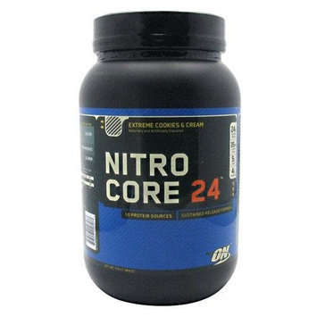 Optimum Nutrition Nitrocore 24 Extreme Cookies and Cream, 3 Pound