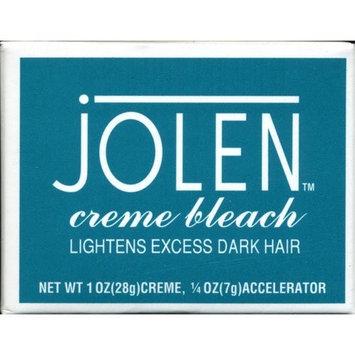 Jolen Crème Bleach, Lightens Excess Dark Hair, 1 oz (Pack of 2)