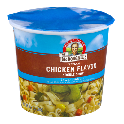 Dr. McDougall's Right Foods Lower Sodium Vegan Noodle Soup Chicken Flavor