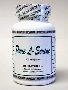 Pure L-Serine 500 mg 50 caps by Montiff