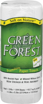 Green Forest White Paper Towels rolls -Pack of 30