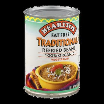 Bearitos Traditional Refried Beans Vegetarian Organic