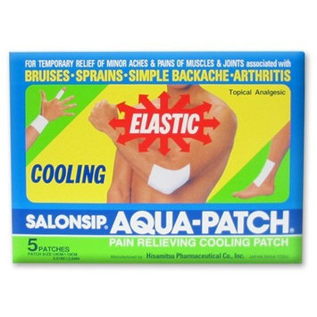 Salonpas  SALONSIP Aqua-Patch - Cooling Pain Relief Patches - 5 Patches