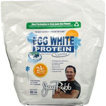 Jay Robb Enterprises - Egg White Vanilla, 80 oz powder