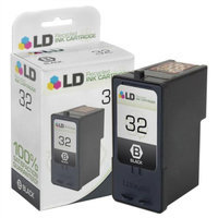 LD © Lexmark Remanufactured 18C0032 (#32) Standard Yield Black Ink Cartridge