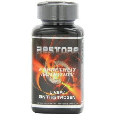 FAHRENHEIT NUTRITION Restore Liver Mineral Supplement, 100 Count