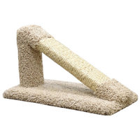 New Cat Condos Tilted Sisal Scratching Post