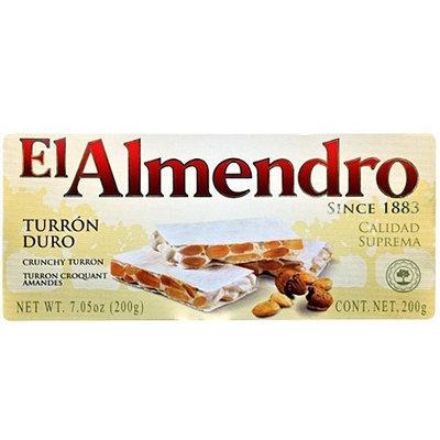 El Almendro Crunchy Almond Turron (Turron Duro) 7.05 Oz (200 G)