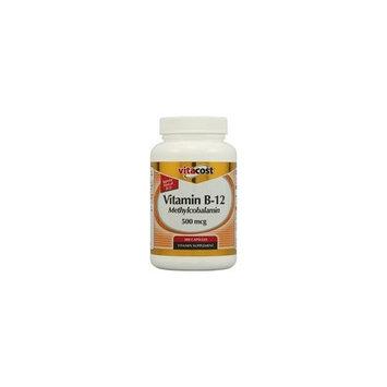 Vitacost Brand Vitacost Vitamin B-12 Methylcobalamin -- 500 mcg - 300 Capsules