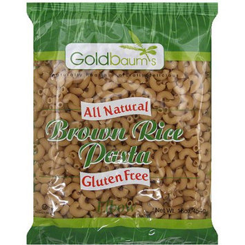 Goldbaums Goldbaum's Brown Rice Elbow Pasta, 16 oz, (Pack of 6)