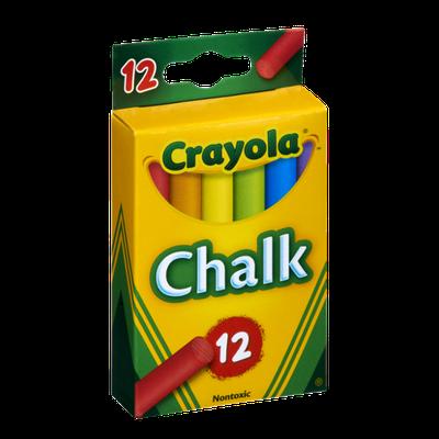 Crayola Colored Chalk Sticks - 12 PK