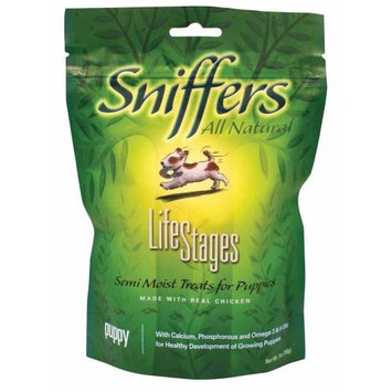 Sergeant's Pet Sergeant's Sniffers Lifestages 7-Ounce Puppy Treat