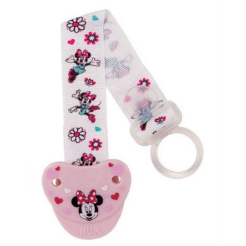 Babies R Us NUK Disney Minnie Mouse Pacifier Clip