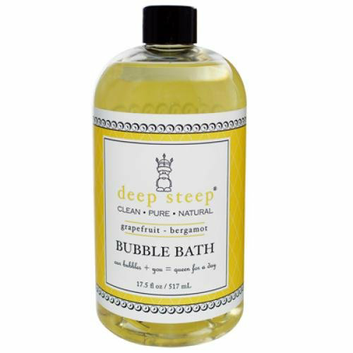 Deep Steep Bubble Bath Grapefruit Bergamot 17 fl oz