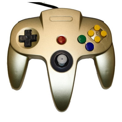 Nintendo N64 Gold Replacement Controller - by Mars Devices