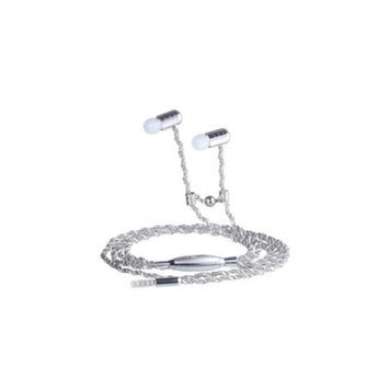 Fusion By Dazzle DZ10007 Jewel Earphone Spiral Silver