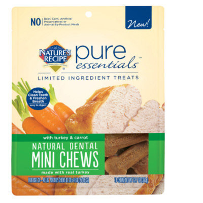 Nature's RecipeA Pure Essentials Mini Chewy Dog Treat