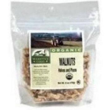 Nuts BG16662 Nuts Shelled Walnuts Hlvs-Pcs - 1x25LB