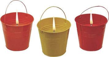 Seasonal Trends 5In Colored Bucket Candle Y1088/Y2564