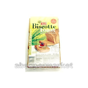 Eti Biscotte Toasted Wholewheat Bread (36 Slices) 330g