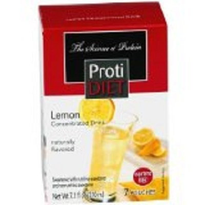 Protidiet Proti Diet Lemon Concentrated Drink Mix (7 Pouches) Aspartame Free