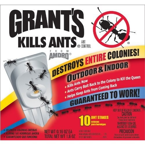 Grant's Grants 100500090 10-Count Ant Bait & Trap Stakes (Discontinued by  Manufacturer)