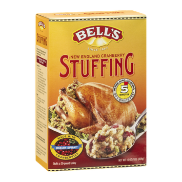 Bell's New England Cranberry Stuffing with Ocean Spray Cranberries